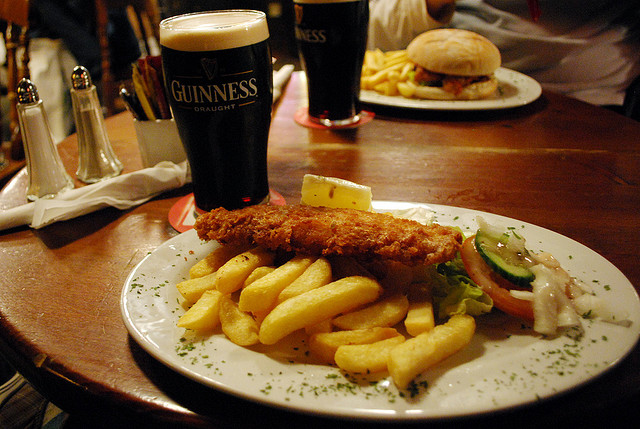 Fish an chips laura bittner ireland travel guides for Fish and beer