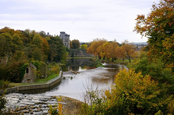 Kilkenny Castle and the River Nore, ©IrishFireside/Flickr