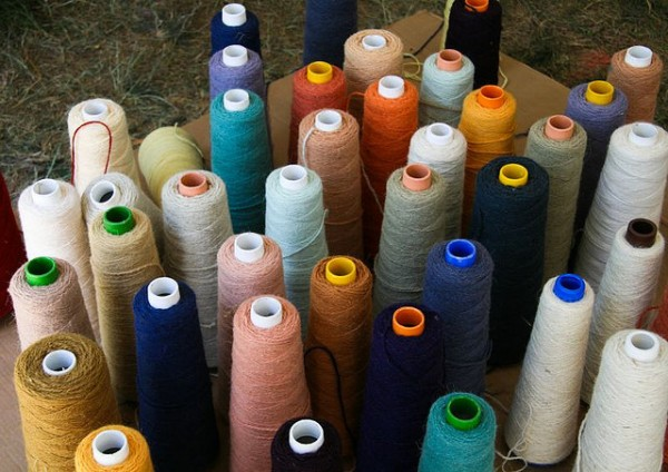 Northern Irish Wools for Carpets, ©LollyKnit/Flickr