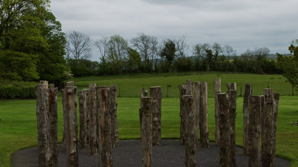 Circular wooden structure at the Knowth site, ©dmerino13-Flickr