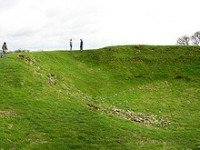 Top heritage sites in Brú na Bóinne: Dowth – burial chambers, art and winter solstice