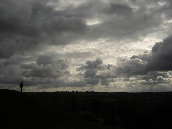 Dowth and a volatile Co. Meath sky, ©Rowan of Ravara/Flickr