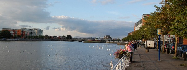 Limerick City on the River Shannon, ©lukemcurley/Flickr
