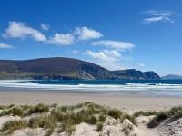 Visiting Achill Island – beaches, historical architecture and the Deserted Village