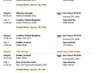 Air France flight from Houston to Dublin from $732