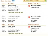Air Canada flight from Toronto to Dublin from $720