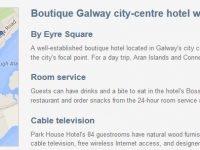 Park House Hotel in Galway for $121 a night
