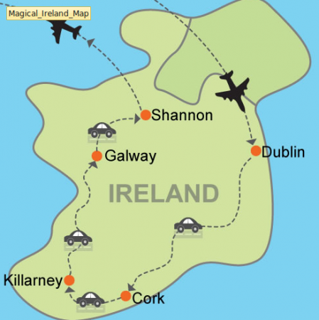 Magical Ireland trip to 4 cities under $1200