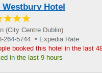The Westbury Hotel in Dublin - luxury for $305
