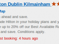 Stay at the Hilton Dublin Kilainham for $100 per night