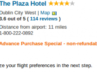 5 nights Dublin getaway at The Plaza Hotel for $1277