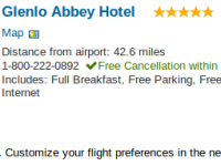 Galway vacation at Glenlo Abbey Hotel for $1022